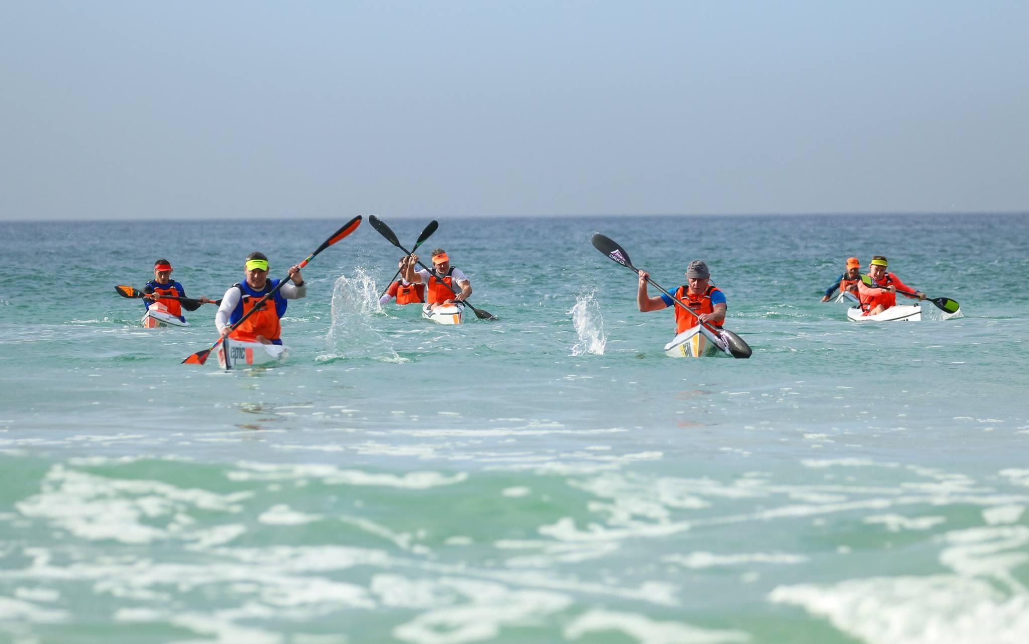 Surfski Paddling